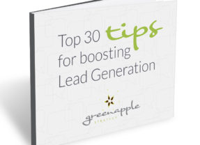 Green Apple ebook: Top 30 Tips for Boosting Lead Generation