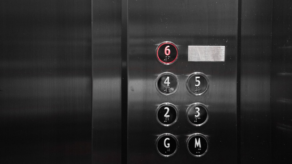number-six-on-elevator-buttons